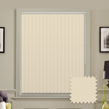 "5"" Cream Vertical Blinds 